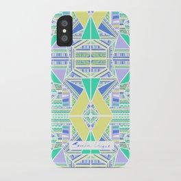 Broken Tribe White iPhone Case