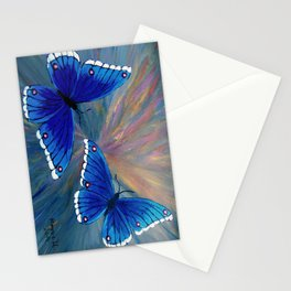 Butterflies-2  Stationery Cards
