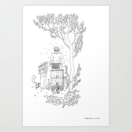 beegarden.works 004 Art Print