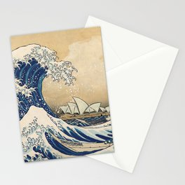 The Great Wave - Sydney Stationery Cards