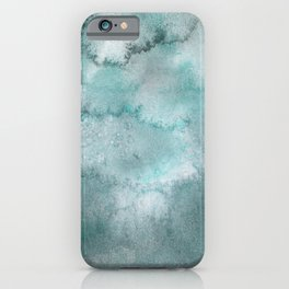 Rise and fall of the sea iPhone Case