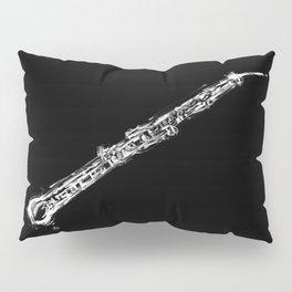 Contrabass Oboe Pillow Sham