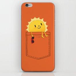 Pocketful of sunshine iPhone Skin