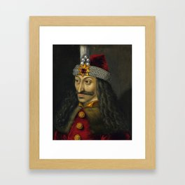 Vlad the Impaler Portrait Framed Art Print