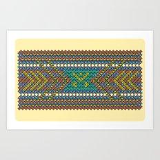 Aztec Hour Art Print