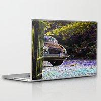 car Laptop & iPad Skins featuring Car by Lior Blum