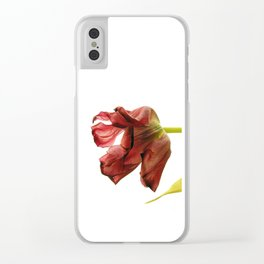 mature beauty Clear iPhone Case