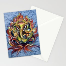 AUM Ganesha Stationery Cards