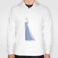 frozen elsa Hoodies featuring Elsa, Frozen by carolam