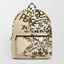 Fruit of the Spirit (Monotone) Backpack