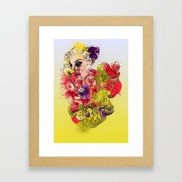 When the Petals Start Pouring Framed Art Print