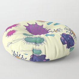 New Life Form Floor Pillow