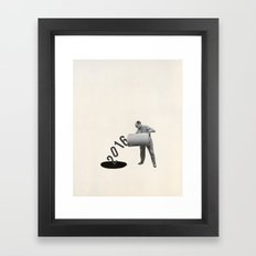 Noir Year Framed Art Print