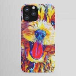Goldendoodle 2 iPhone Case