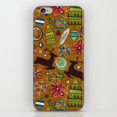 joyous jumble gold iPhone & iPod Skin