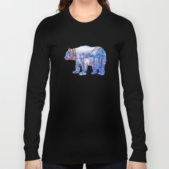 Winter forest in the mountains II Long Sleeve T-shirt