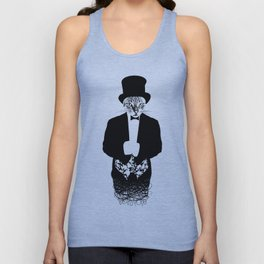Cat in the Hat Unisex Tank Top