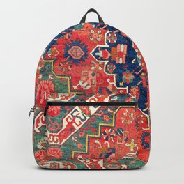 Alpan Kuba East Caucasus Rug Print Backpack