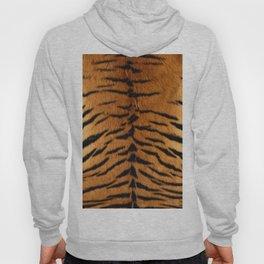 Faux Siberian Tiger Skin Design Hoody