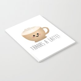 Thanks A Latte Notebook