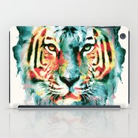 tiger iPad Cases featuring TIGER by RIZA PEKER