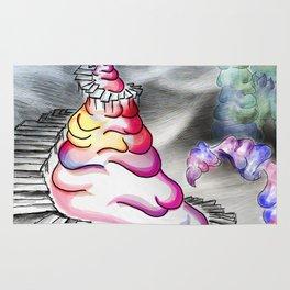 Coloured Shaving Cream - Whimsical Rug