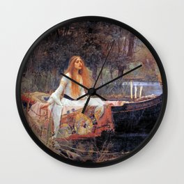 Lady Guinevere Wall Clock