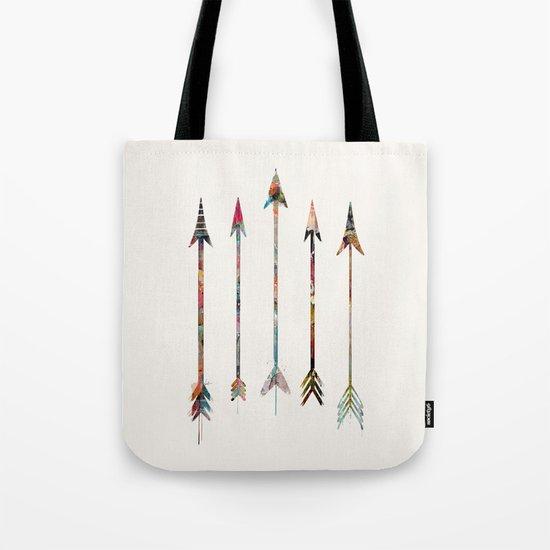 5 Arrows Tote Bag