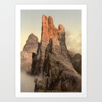 spires Art Prints featuring Rocky Spires by Vintage Photochroms