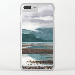 SITKA SOUND 05, Sitka Travel Sketch by Frank-Joseph Clear iPhone Case