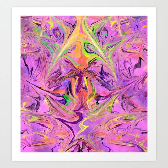 Galexia Art Print