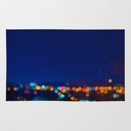 Christmas Night Lights Rug
