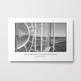 Light of a lighthouse Metal Print