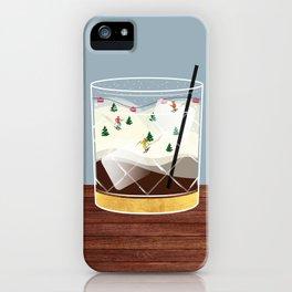 Cocktail Landscape White Russian iPhone Case
