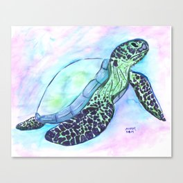 Save The Sea Turtles (50% of commission is donated to the World Wildlife Fund) Canvas Print