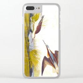 Wilson's Phalarope Bird Clear iPhone Case