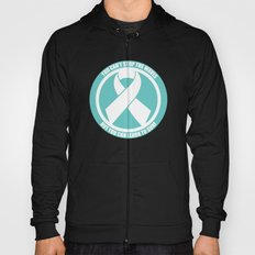 Ride the Waves - Cancer Ribbon Hoody