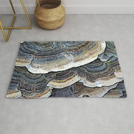 Turkey Tail Fungi Rug