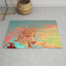 Sunset Kitsune Rug