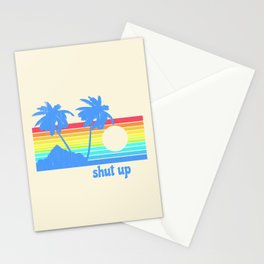 Shut Up Stationery Cards