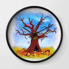 Tree spirits Wall Clock