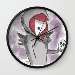 The undertaker Wall Clock