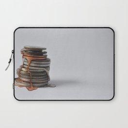 Melting Coins Laptop Sleeve