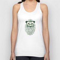 hedgehog Tank Tops featuring hedgehog by barmalisiRTB