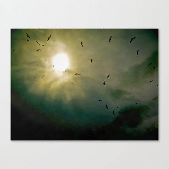 Wings Eternal Canvas Print