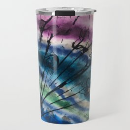 Colorful Abstract Bouquet Travel Mug