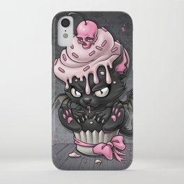 Devil Kitty Cupcake iPhone Case
