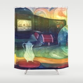 Inside Out and Outside In Shower Curtain