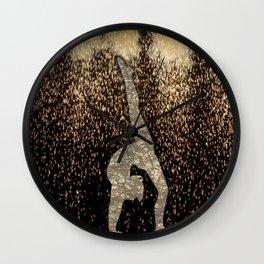 Sparkle Gymnast Wall Clock