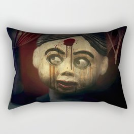 Possibly Possessed Rectangular Pillow